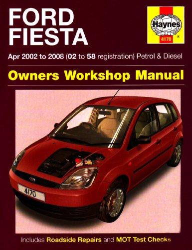 9781844257812: Ford Fiesta Petrol and Diesel Service and Repair Manual: 2002 to 2008 (Service & repair manuals)