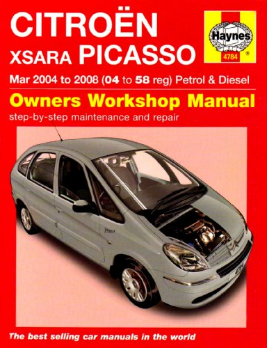 9781844257843: Citroen Xsara Picasso Petrol and Diesel Service and Repair Manual: 2004 to 2008 (Service & repair manuals)