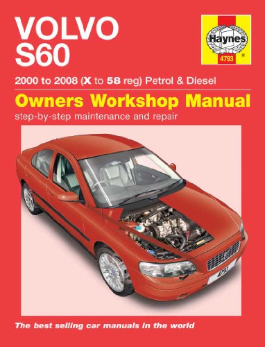 9781844257935: Volvo S60 Petrol and Diesel Service and Repair Manual: 2000 to 2008 (Haynes Service and Repair Manuals)