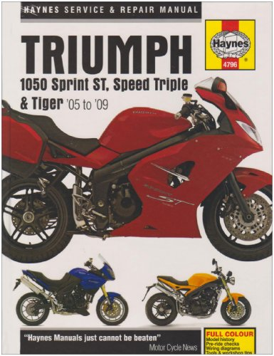Triumph 1050 Service and Repair Manual: 2004 to 2009 (Haynes Service and Repair Manuals): Coombs, ...