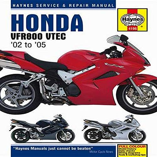 9781844257997: Honda VFR800 VTEC Superbike: 2002 thru 2009 (Haynes Service & Repair Manual)
