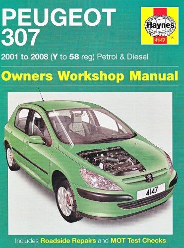 9781844258000: Peugeot 307 Petrol and Diesel Service and Repair Manual: 2001 to 2008 (Service & repair manuals)
