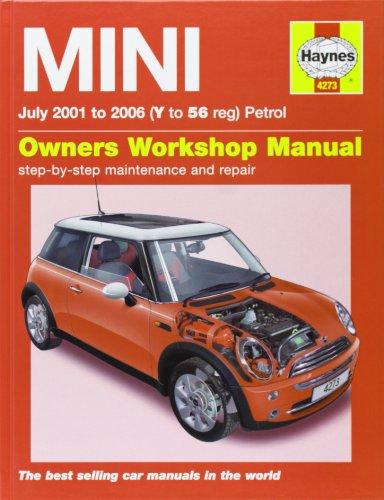 Mini (Petrol) Service and Repair Manual: 2001 to 2006 (Haynes Service and Repair Manuals): Martynn ...