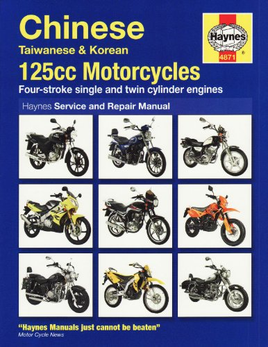 9781844258710: Chinese 125 Motorcycles Service and Repair Manual (Haynes Motorcycle Manuals)