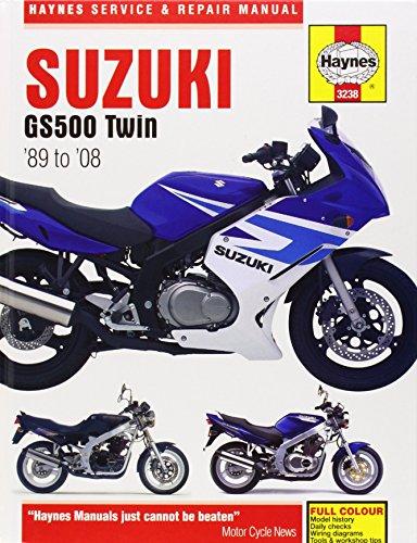 9781844258819: Suzuki GS500 Twin 1989-2008 (Haynes Service & Repair Manual)