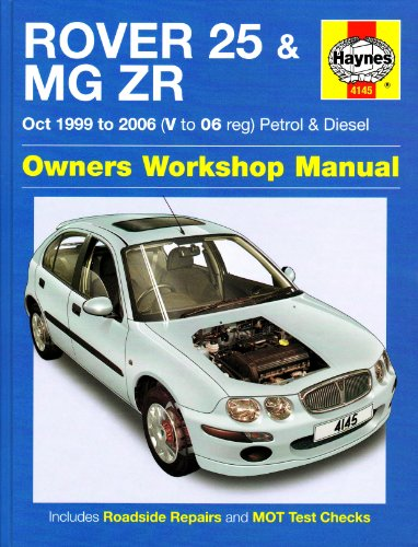 9781844258833: Rover 25 and MG ZR Petrol and Diesel: 99-06 (Haynes Service and Repair Manuals)