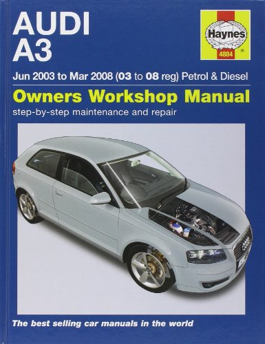 9781844258840: Audi A3 Petrol and Diesel Service and Repair Manual: 03 to 08