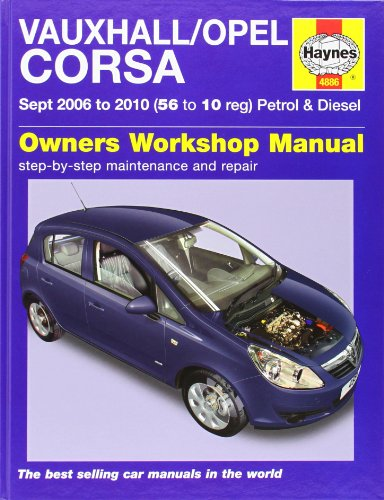 9781844258864: Vauxhall/Opel Corsa Petrol and Diesel Service and Repair Manual: 2006 to 2010 (Haynes Service and Repair Manuals)