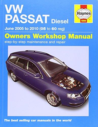 9781844258888: VW Passat Diesel Service and Repair Manual: 2005 to 2010 (Service & repair manuals)