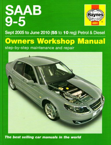 9781844258918: Saab 9-5 Petrol & Diesel Service and Repair Manual (Haynes Manual, Sept. 2005 to June 2010)