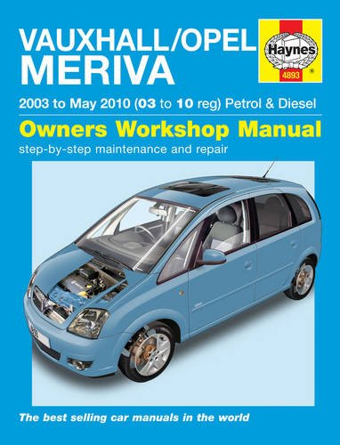 9781844258932: Vauxhall/Opel Meriva Petrol & Diesel Service and Repair Manual: 2003 to 2010 (Haynes Service and Repair Manuals)