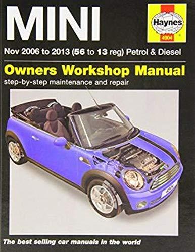 9781844259045: MINI Petrol & Diesel Service and Repair Manual: 2006-2013 (Haynes Service and Repair Manuals)