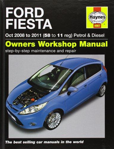 9781844259076: Ford Fiesta Petrol & Diesel (08-11). John S. Mead (Haynes Service and Repair Manuals)