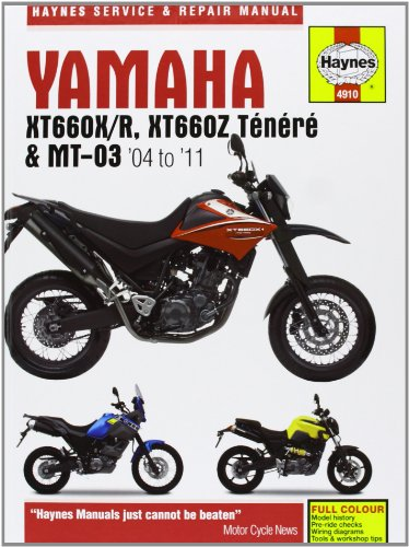 Yamaha XT660 & MT-03 Service and Repair Manual: Coombs, Matthew