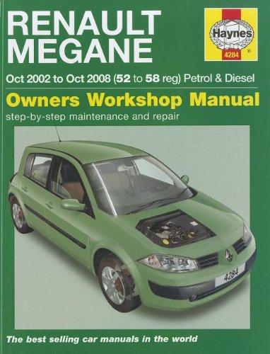 9781844259151: Renault Megane Petrol & Diesel: 2002 to 2008