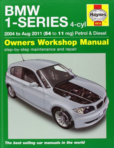 9781844259182: BMW 1-Series 4-cyl Petrol & Diesel Service & Repair Manual: 2004 to 2011 (Haynes Service and Repair Manuals)