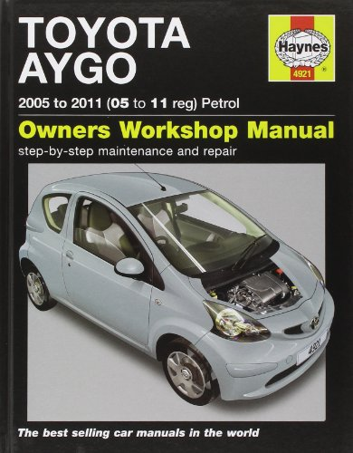 9781844259212: Toyota Aygo Petrol: 2005 to 2011 (Service & repair manuals)