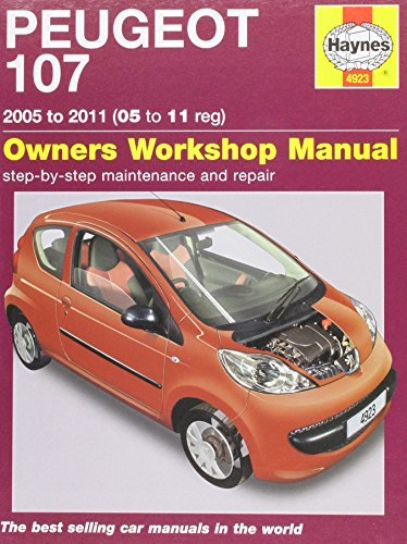 9781844259236: Peugeot 107: 2005 to 2011 (05 to 11 Reg): Owners Workshop Manual