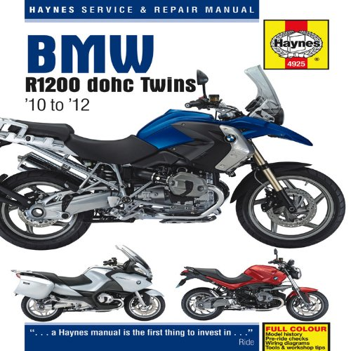 9781844259250: BMW R1200 Dohc Air-cooled Service and Repair Manual: 2010-2012 (Haynes Service and Repair Manuals)