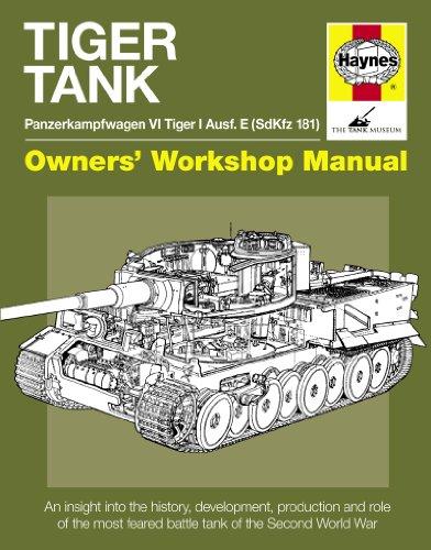9781844259311: Tiger Tank Manual: Panzerkampfwagen VI Tiger 1 Ausf.e Sdkfz 181 Model