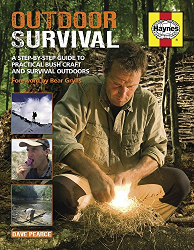 9781844259465: Outdoor Survival Manual: A step-by-step guide to practical bush craft and survival outdoors (Haynes)