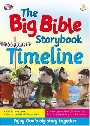 9781844273614: The Big Bible Storybook Timeline (The Bible storybook range)