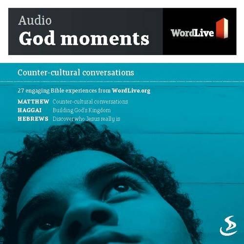 9781844273980: Audio God Moments: Counter-cultural Conversations