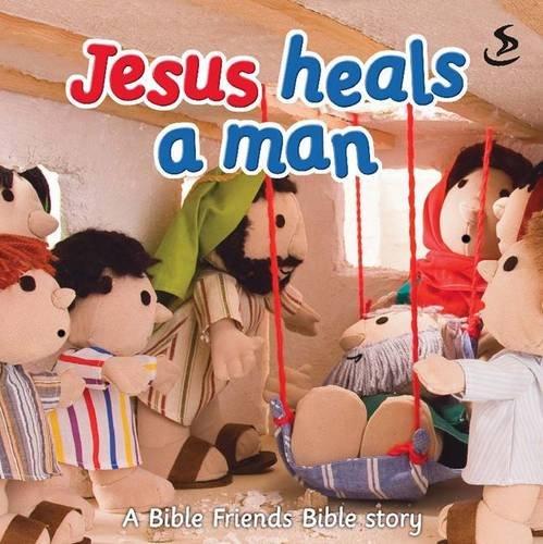 9781844275007: Jesus Heals a Man (Big Bible Storybook)
