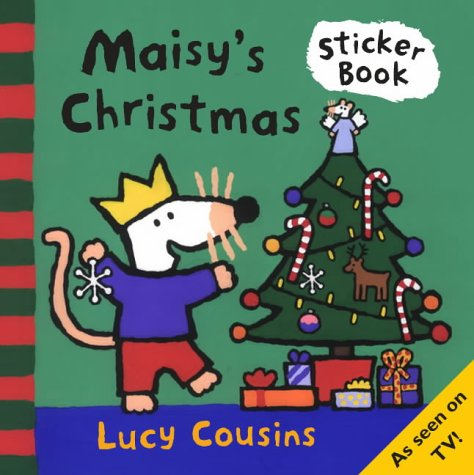 9781844286645: Maisy's Christmas Sticker Book