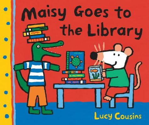 9781844286799: Maisy Goes To The Library