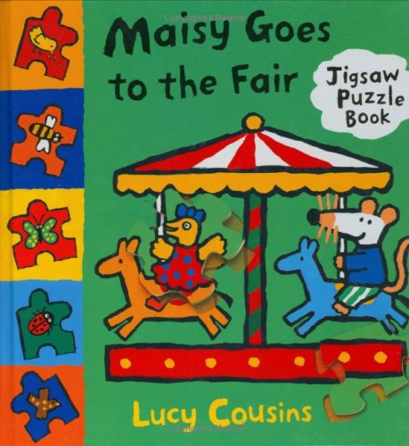 9781844288939: Maisy Goes To The Fair (Maisy Jigsaw Book)