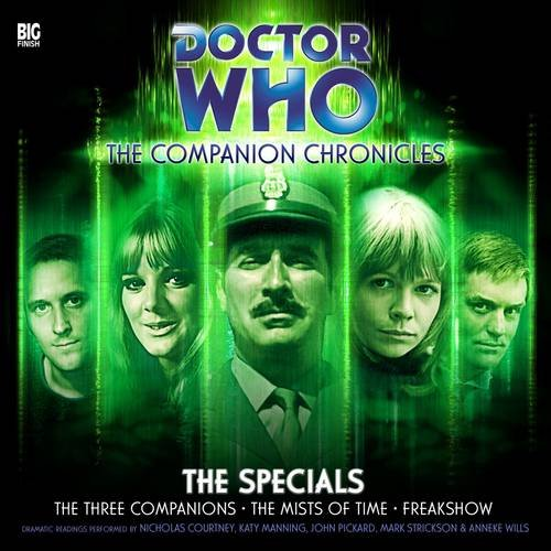 9781844355518: Doctor Who: The Companion Chronicles - The Specials CD Box Set