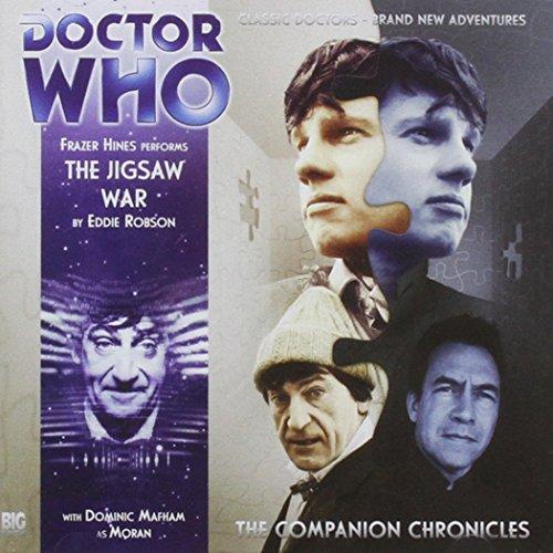 The Jigsaw War (Doctor Who: The Companion Chronicles) (Audio CD): Eddie Robson