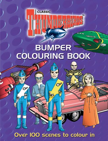 9781844428946: The Thunderbirds Bumper Colouring Book (Thunderbirds)