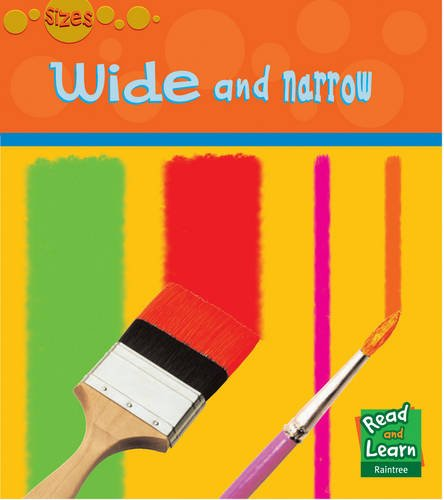 9781844437924: Wide and Narrow (Read and Learn: Sizes) (Read and Learn: Sizes)