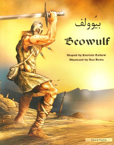 9781844440269: Beowulf in Farsi and English: An Anglo-Saxon Epic (Myths & Legends from Around the World)