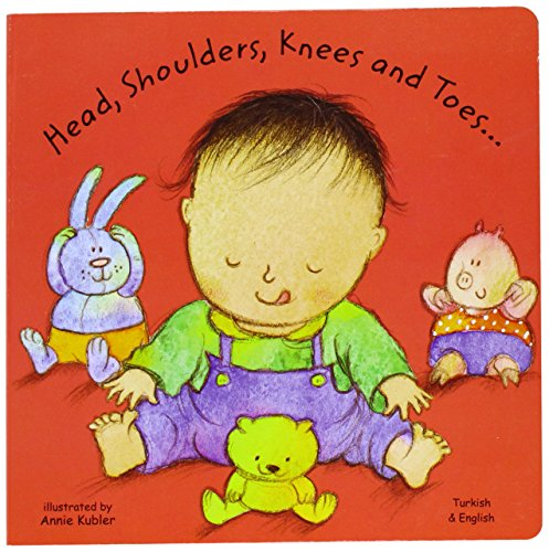 9781844441563: Head, Shoulders, Knees and Toes in Turkish and 'English (Board Books) (English and Turkish Edition)