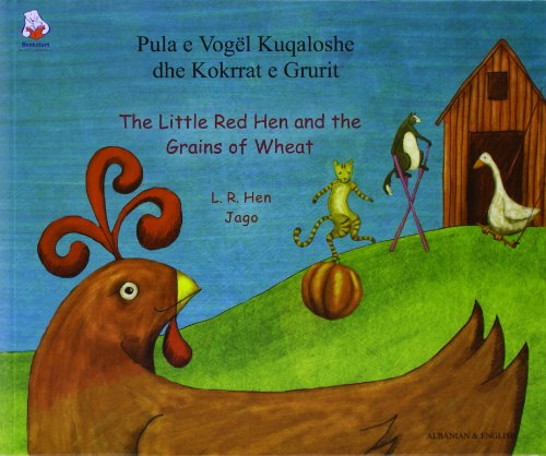 9781844441983: Little Red Hen (Albanian Edition)