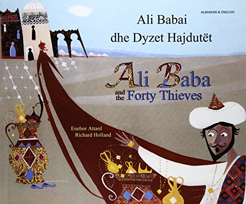 9781844444007: Ali Baba and the Forty Thieves in Albanian and English (Folk Tales)