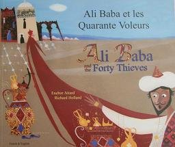 9781844444090: Ali Baba and the Forty Thieves in German and English (Folk Tales) (English and German Edition)