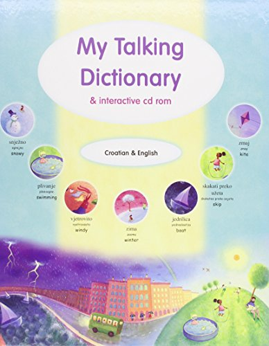 9781844446865: My Talking Dictionary and Interactive CD-ROM: Croatian and English (Book & CD Rom)