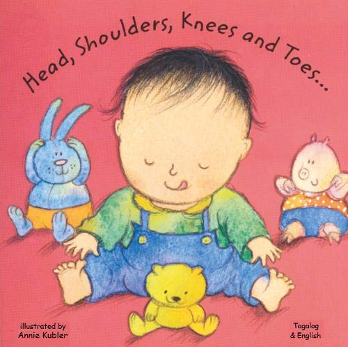 9781844448708: Head, Shoulders, Knees and Toes in Tagalog and English (Board Books) (English and Tagalog Edition)