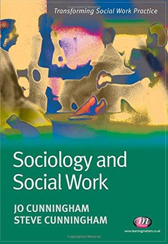 Sociology and Social Work: Jo Cunningham; Steve