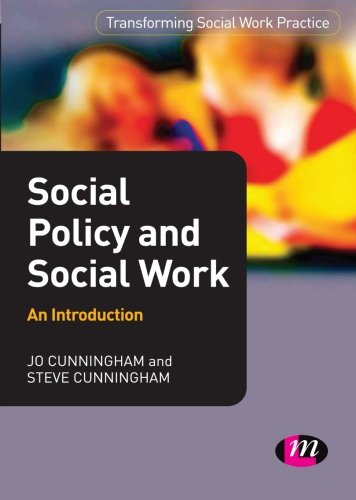 9781844453016: Social Policy and Social Work: An Introduction (Transforming Social Work Practice Series)