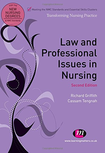 9781844453726: Law and Professional Issues in Nursing (Transforming Nursing Practice Series)