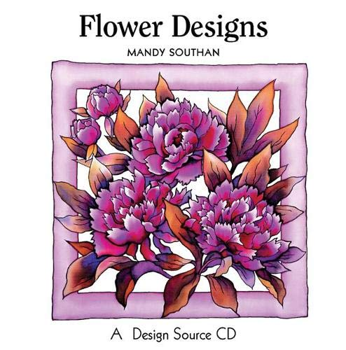 9781844480807: Flower Designs: A Design Source CD (Design Source Books)