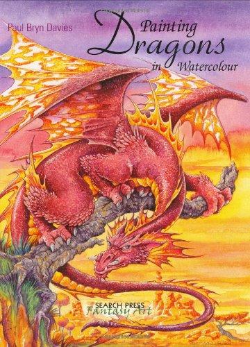 9781844481514: Painting Dragons in Watercolour (Fantasy Art)