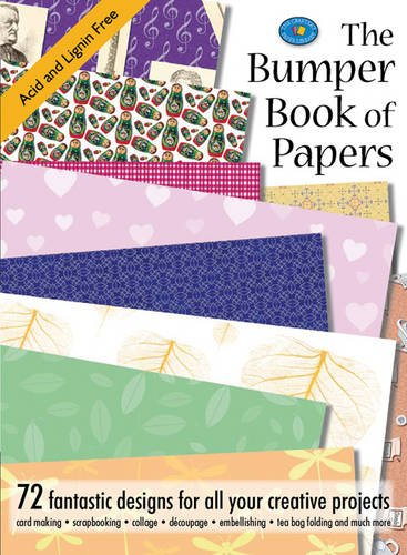 9781844482139: The Bumper Book of Papers: 72 Fantastic Designs for all Your Creative Projects