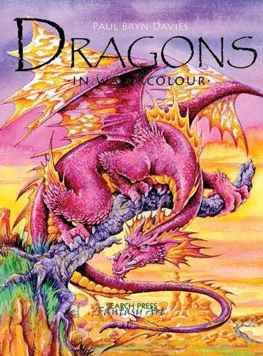 9781844483822: Dragons in Watercolour (Fantasy Art)