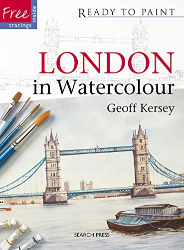 9781844484195: London in Watercolour (Ready to Paint)
